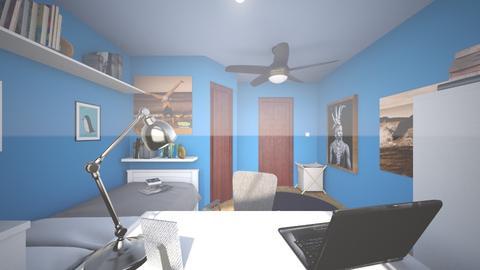 Boys Bedroom - Modern - Bedroom  - by splashbun