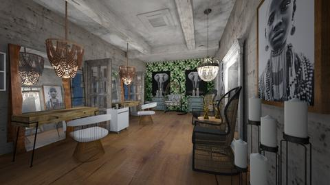 Coiffure_ - Global - Living room  - by Nikos Tsokos