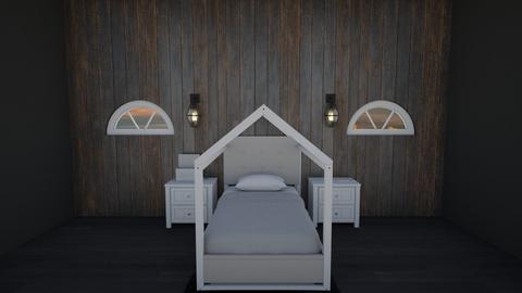 monocromatic - Minimal - Bedroom  - by taebay1 OSG