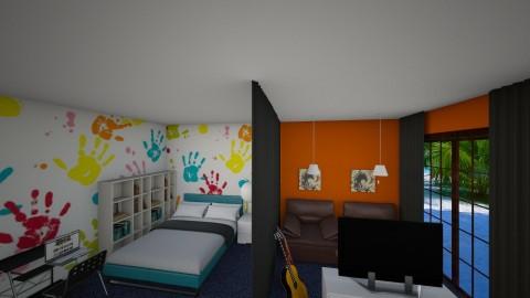 boy room - Bedroom  - by marija1706