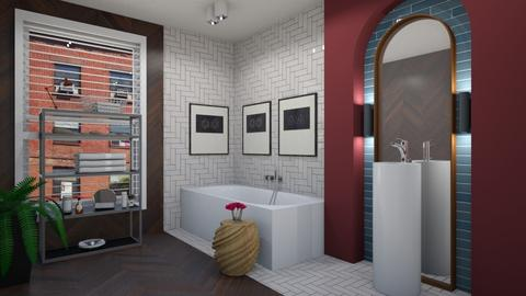 A Bath for Leigh - Modern - Bathroom  - by 3rdfloor