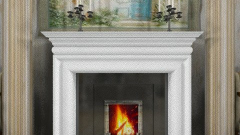 fireplace detail - Classic - by PomBom