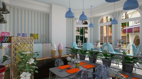 Le Francais Ice Cream - Retro - by Marcos Natan