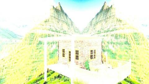 Mountains Overviewf - Rustic - Garden  - by diyari28