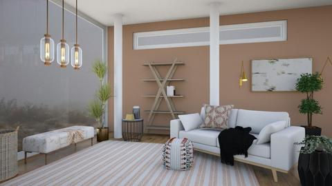 Calmly Living - Living room  - by Jane Rawle