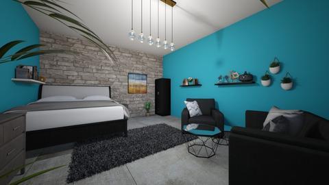 Room for Bleulover200 - Bedroom  - by Meghan White
