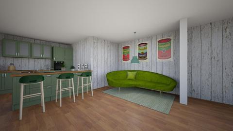 GREEN - Kitchen  - by g0uii