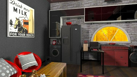 Teenager Kitchen - Eclectic - Kitchen  - by rotheratti