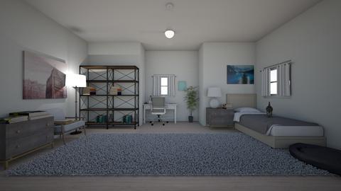 Online School  - Bedroom  - by midnightspotlight