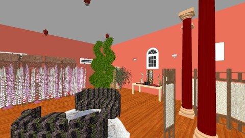 BR_tree_pool - Modern - Bedroom - by Dakota Sadler