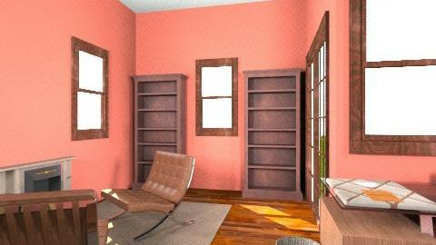 Warm Study - Vintage - Office  - by kaylabee28