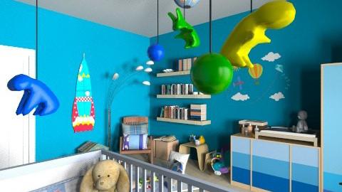 Cameretta bimbo - Modern - Kids room  - by Nufra