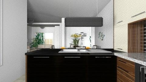 casa nueva de lety - Minimal - Kitchen  - by domuseinterior