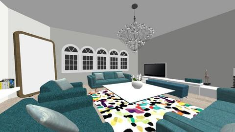 colors - Living room  - by sofiiv