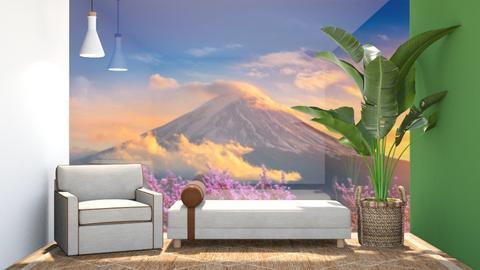 P E A C E - Living room  - by aestheticXdesigns