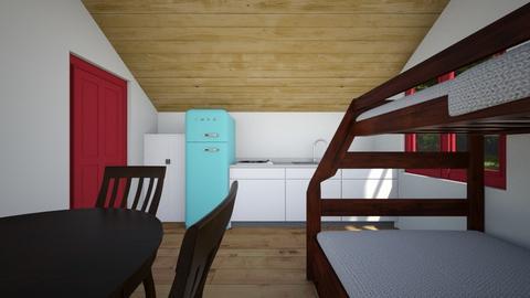 Tiny Cabin 3 - Bedroom  - by SammyJPili
