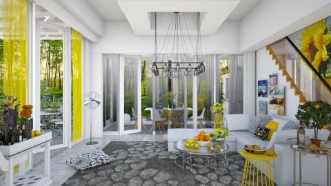summertime  - Eclectic - Living room - by Ida Dzanovic