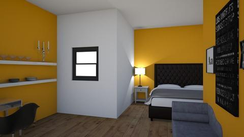 mi habitacion  - by dionepaola