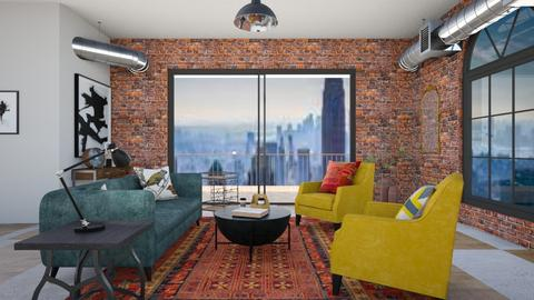 City Apartment - Living room - by jennasnavely98