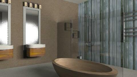 Greens wetroom - Modern - Bathroom - by stj502