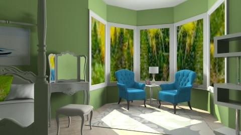 Room - Vintage - Bedroom  - by so_lejit135