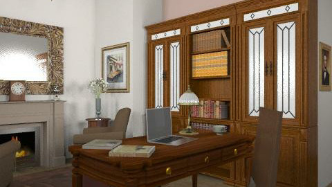 Classic study! - Classic - Office  - by yasemin04