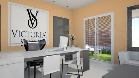 Office001 - Modern - Office - by Kasia Zacharska
