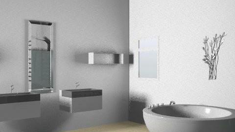 Basic - Minimal - Bathroom  - by Daniel Turvey