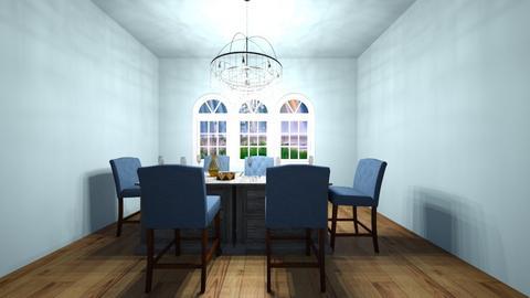 Dining room - Glamour - by Georgeweasleyismine