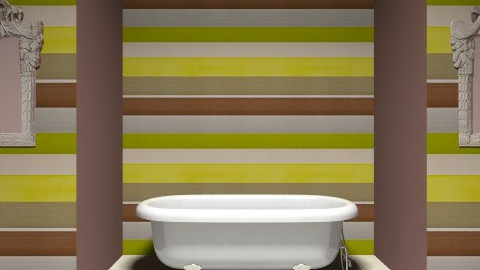 bathroom - Vintage - Bathroom  - by curtain5