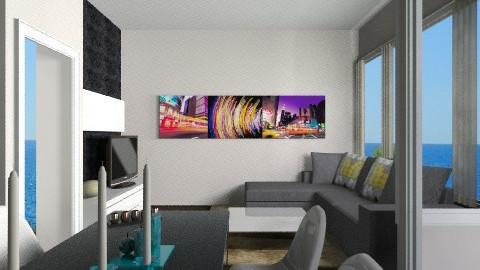 LIVING DINING ROOM 6 - by ilia_eva