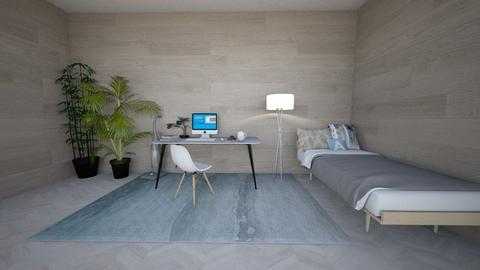 college dorm - Bedroom  - by HanaCloudy