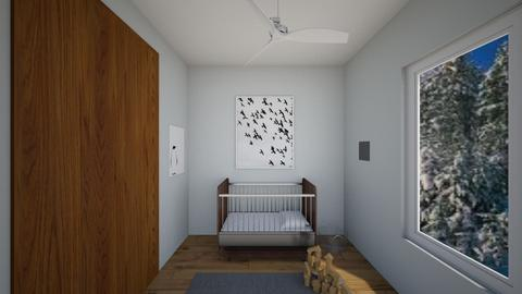 Baby nursery  - Modern - Kids room  - by s _ i _ j