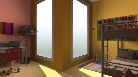 La chambre de les enfants - Eclectic - Kids room  - by Syzygy93
