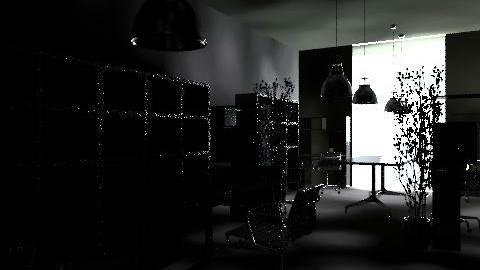 sala maestros - Classic - Office  - by aleguzman3