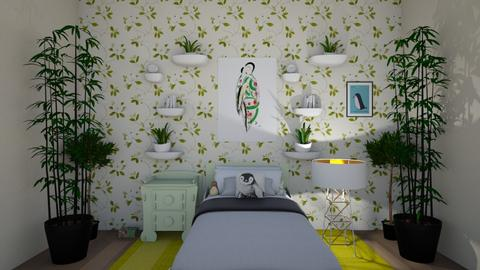 Nature bedroom - Global - Bedroom - by LucaIdunstri