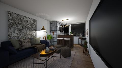 House Bar - Living room - by klara992