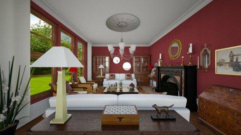 Hadley - Classic - Living room  - by camilla_saurus