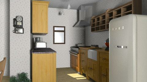 kitchen - Country - Kitchen  - by kamo29
