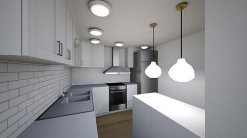 Washburn Kitchen - Modern - Kitchen  - by bradressel