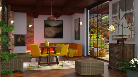 JESEN DR57 - Dining room  - by Dragana Randjelovic