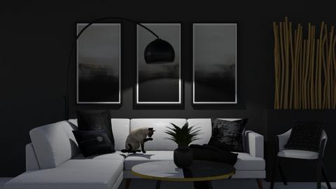 Black and White - by Anu and Janu