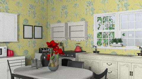 Kitchen 1 - Country - Kitchen  - by KViaene
