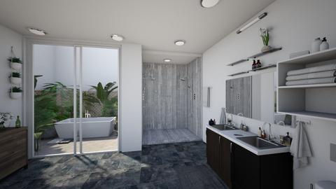 Open Bathroom - Modern - Bathroom  - by Sophia Cooper