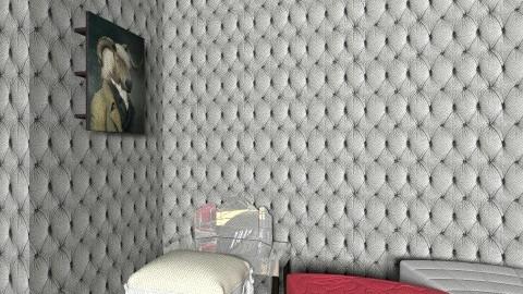 room3 - Retro - Bedroom  - by kozanostra