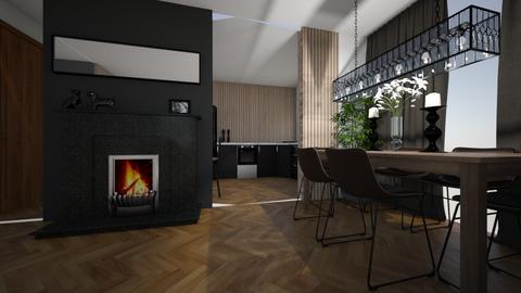 nowyA - Living room  - by Aga1977