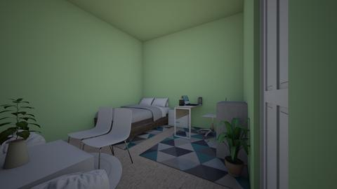 Laylas Bedroom - Modern - Bedroom  - by Layloo