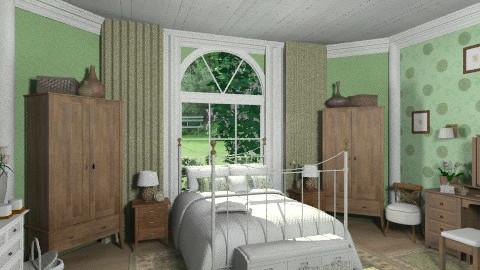 Green Dreams - Bedroom  - by Violetta V