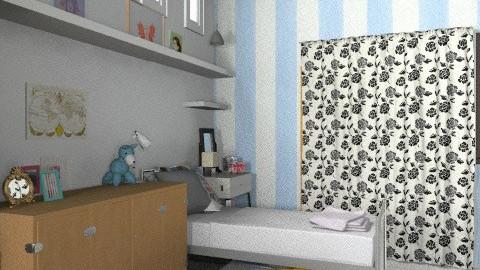 kamar [sisi dalam] - Eclectic - Bedroom  - by Lolitya Anindita