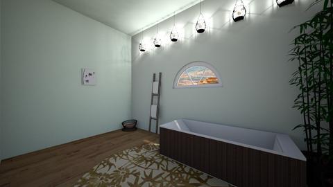 Relax corner - Bathroom  - by FANGIRLdesigner